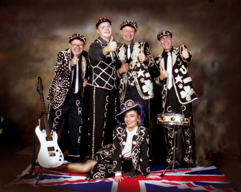 cockney pride band - English Wedding Traditions
